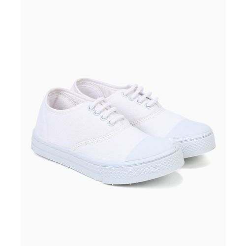 Liberty Boys Lace Running Shoes(White)