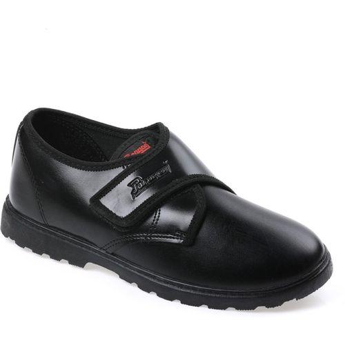 Paragon Boys & Girls Velcro Derby Shoes(Black)