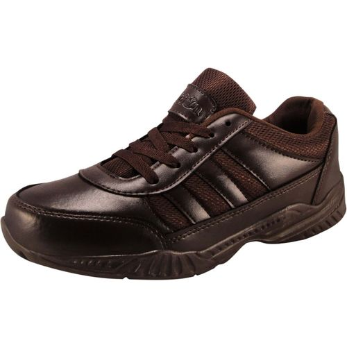 Action Boys & Girls Lace Sneakers(Brown)