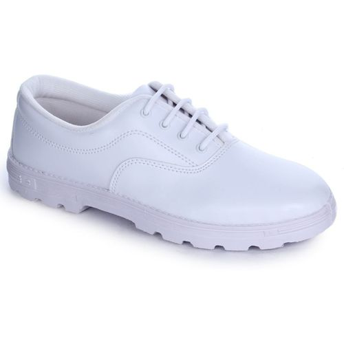Prefect By Liberty Boys Lace Running Shoes(White)