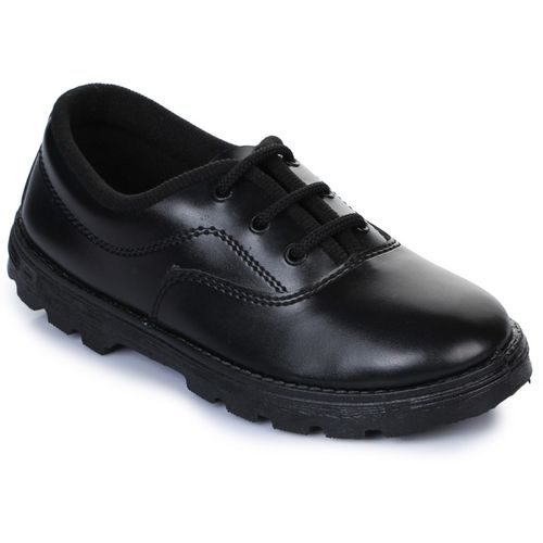 Prefect By Liberty Boys Lace Running Shoes(Black)