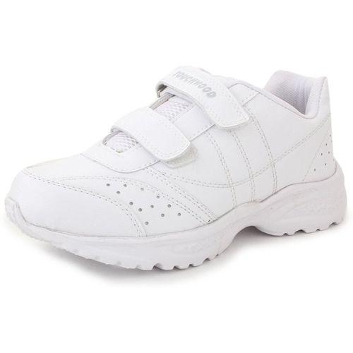TOUCHWOOD Boys & Girls Velcro Walking Shoes(White)