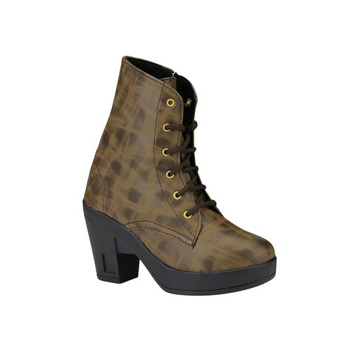 do bhai brown ankle boots
