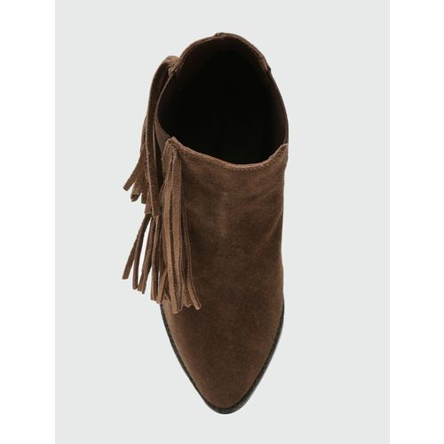 SSS (Street Style Store) brown ankle boots