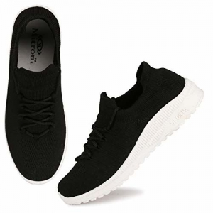 FASHIMO Black Running Walking Sports and Gym Shoes