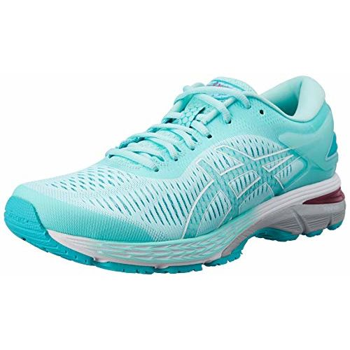 ASICS Women's Gel-Kayano 25 ICY Morning/Sea Glass Running Shoes- 9 UK/India (43.5 EU) (11 US) (1012A026.402)