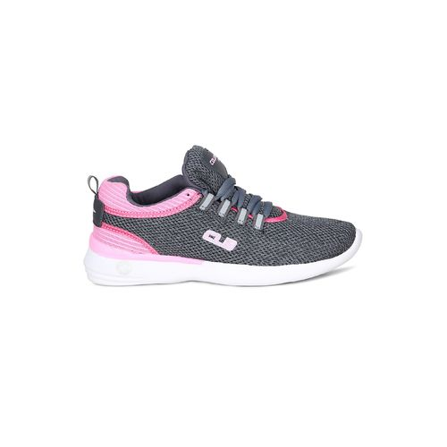 COLUMBUS grey lace-up sports shoes