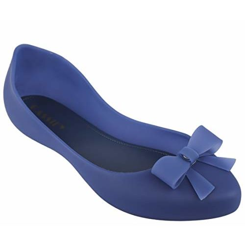 Irsoe Latest Collection, Comfortable & Fashionable Casual/Formal Bellies for Women's Girl's Ballet Flats/Ballerinas (Blue)