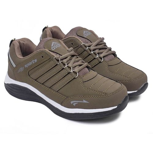 Asian Boys Lace Running Shoes(Brown)