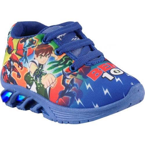 BUNNIES Boys & Girls Lace Walking Shoes(Blue)