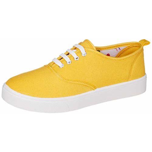 ELISE Yellow Sneakers (EVAR-WT19-69)