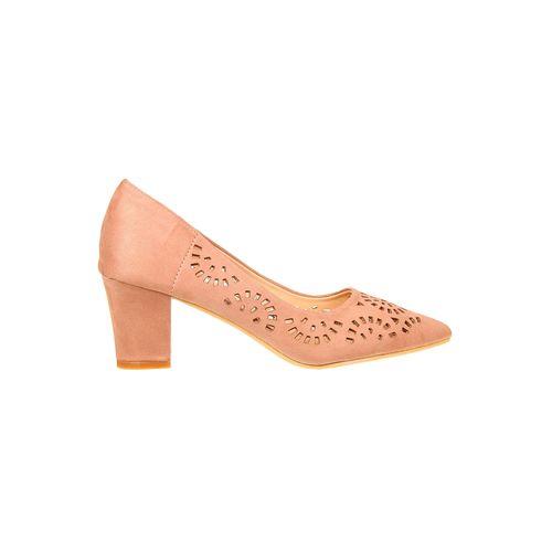flat n heels pink slip on pumps