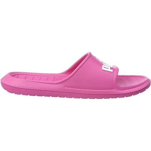 Puma Unisex's Pink Divecat v2 Sandals