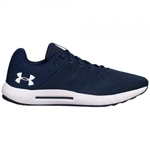 Under Armour Navy Blue UA Micro G Pursuit Running Shoes For Men
