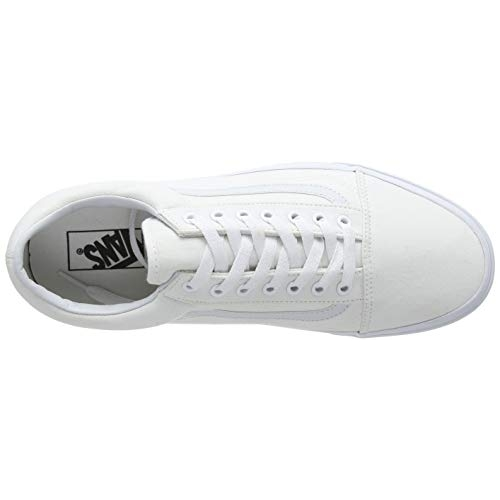 Vans White Lace up Mid Ankle Sneakers