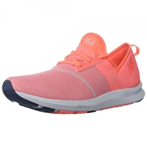 New Balance Pink Mesh Lace Up Sports Shoes