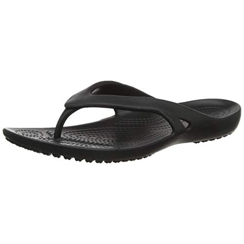 Crocs Black Synthetic Casual Flip-Flops