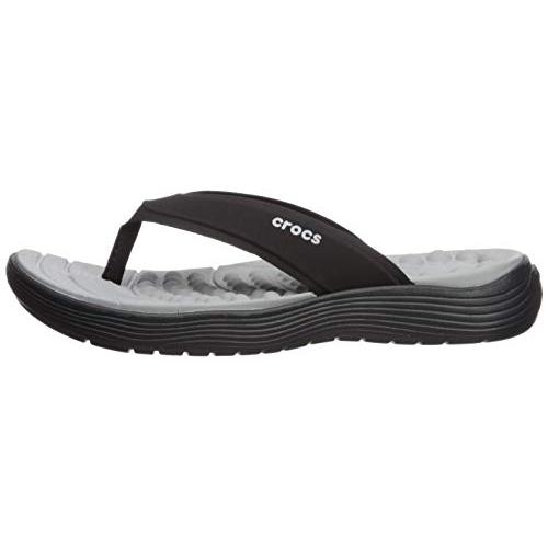 Crocs Reviva Flip W Black Flip Flops