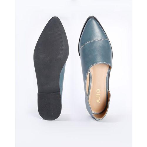 AJIO Pointed-Toe D'orsay Ballerinas