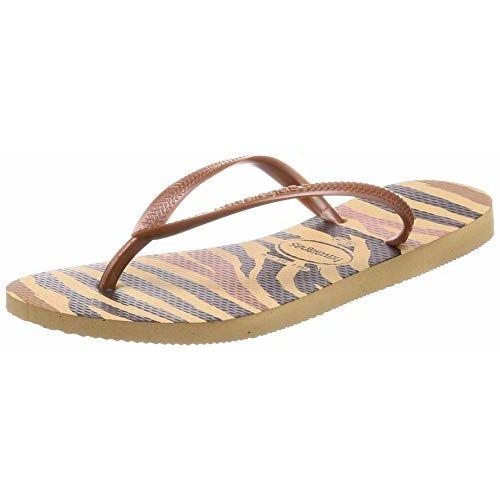 Havaianas Slim Animals Ivory Flip-Flops (HV4103352_36)