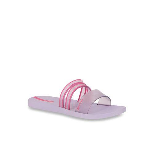 Ipanema Purple Casual Sandals