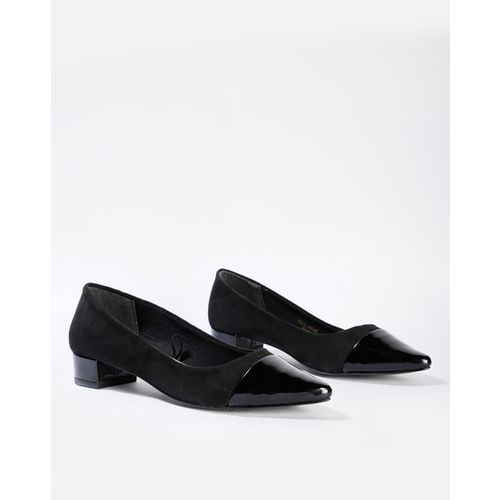 Carlton London Pointed-Toe Heeled Pumps