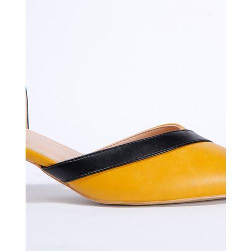 AJIO Pointy-Toe Kitten Heels