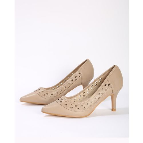 Carlton London Pointed-Toe Pumps with Cutouts
