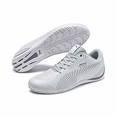 Puma Unisex Adult Mapm Drift Cat 5 Ultra Ii Slvr-Smkd Pearl Sneakers-8 UK (42 EU) (9 US) (30644501_8)