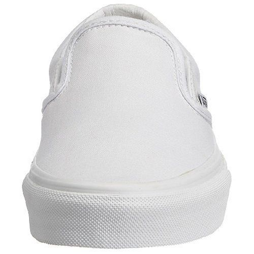 Vans Unisex's U Classic Slip-On True White Sneakers-11 UK (44 EU) (12 US) (71000387)