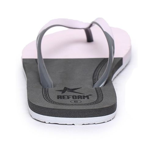 REFOAM SHOES Colourblock Thong-Strap Flip-Flops
