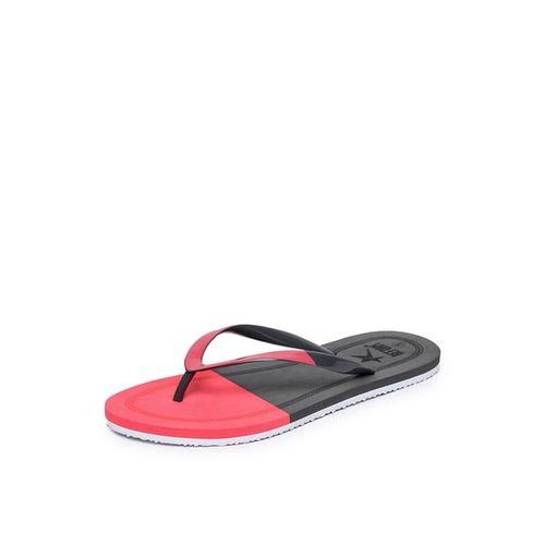 REFOAM SHOES Colourblock Thong-Strap Flip-Flops