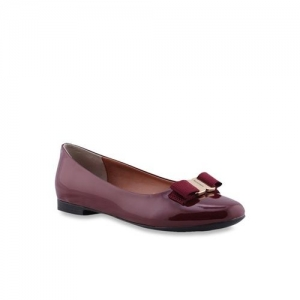 Ruosh Lucy Maroon Flat Ballets