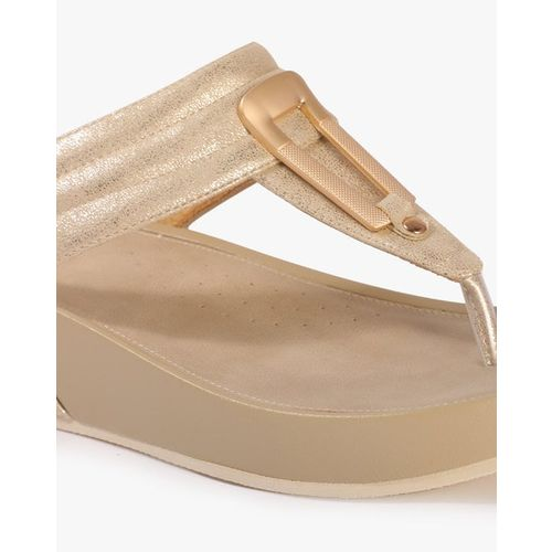 Carlton London Thong-Strap Platform Sandals