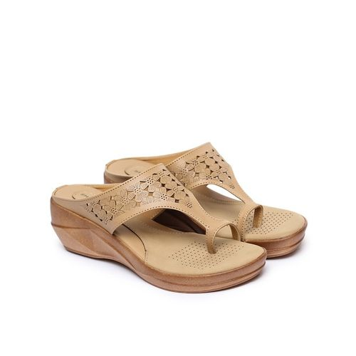 SHEZONE Floral Pattern Wedges
