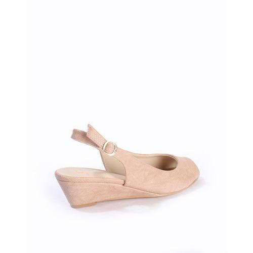 Carlton London Reptilian Pattern Heeled Sandals
