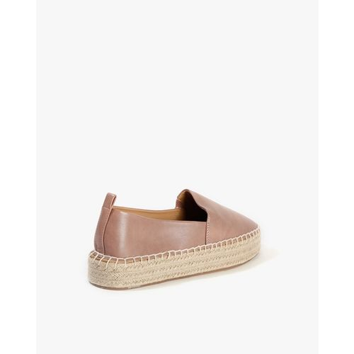 AJIO Low-Top Espadrilles with Braided Overlay