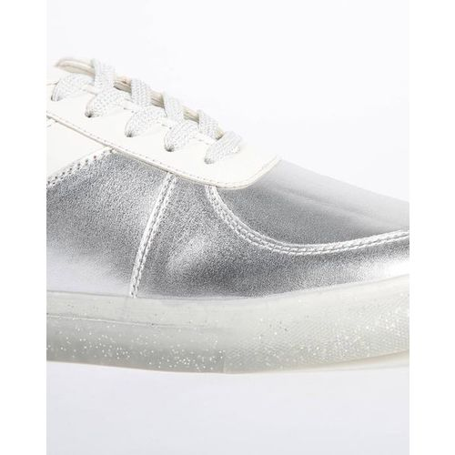 AJIO Colourblock Lace-Up Casual Shoes