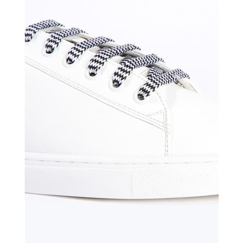 AJIO Colourblock Low-Top Lace-Up Casual Shoes
