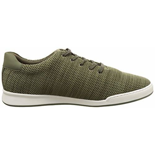 BATA Men's Scott Red 4 Olive Sneakers-10 (8217874)