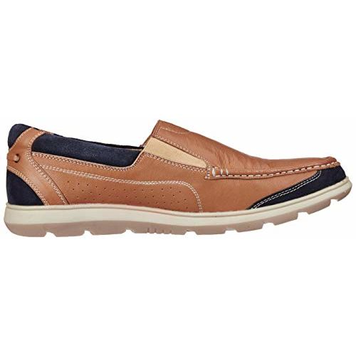Extacy By Red Chief Men's Tan Leather Sneakers-8 UK/India (42 EU) (EXT131 006)