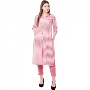 NYPA Pink Kurta and Pant Set