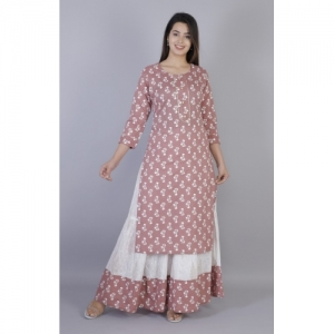 Myaza Women Kurta and Skirt Set