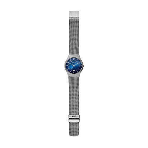 Skagen 233XLTTN Blue Brass Analog Dial Watch