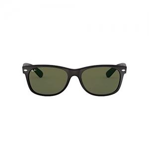 Ray-Ban (0RB2132 54.8 mm) black & maroon plastic Square Sunglasses