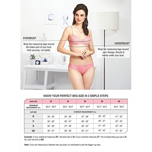 Amante Brown Cotton Solid Padded Wirefree Seamless Bra