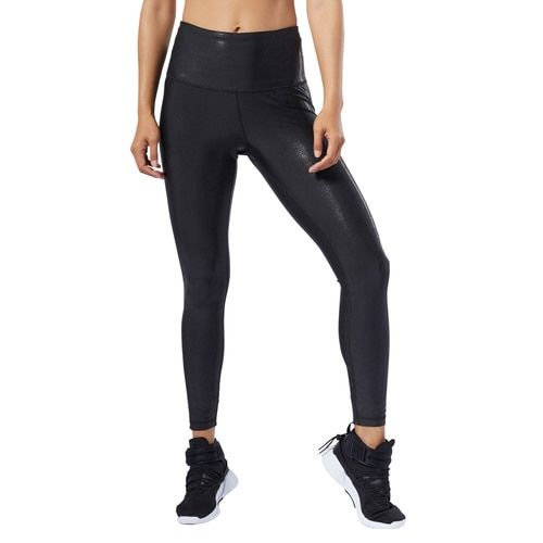 Women's Reebok Studio Lux Metallic Tights