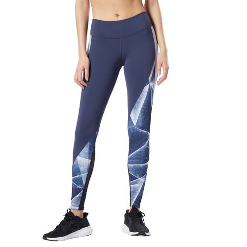 Women's Reebok Training Lux Tights 2.0 - Shattered Ice