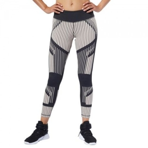 Women's Reebok Studio Cardio Lux Bold 7/8 Moto 2.0 Tights