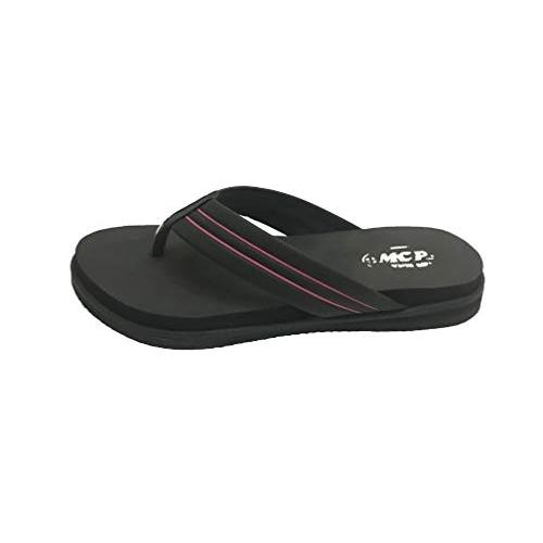 Ortho Care Black Slippers